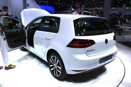 La Volkswagen e-Golf sera commercialisée en France en 2014