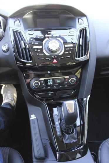 La console centrale de la Ford Focus électrique