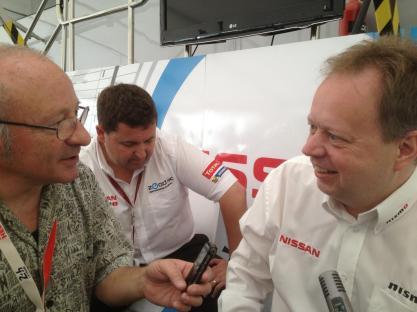 Andy Palmer aux 24h du Mans 2014
