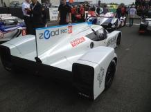 La ZEOD est la première voiture a avoir bouclé un tour 100% électrique aux 24h du Mans