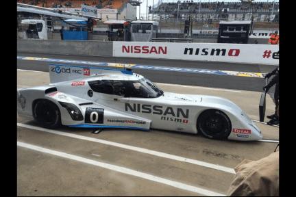 La Nissan ZEOD dans les stands