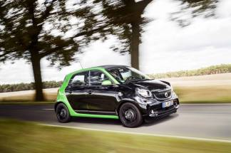 smart forfour electric drive (W453) 2016