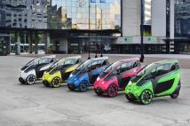 En quelle couleur préférez vous votre Toyota i-Road