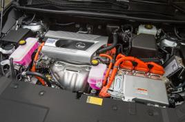 Motorisation hybride du Lexus NX 300h
