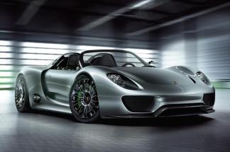 Porsche 918 Spyder : la supercar hybride rechargeable allemande