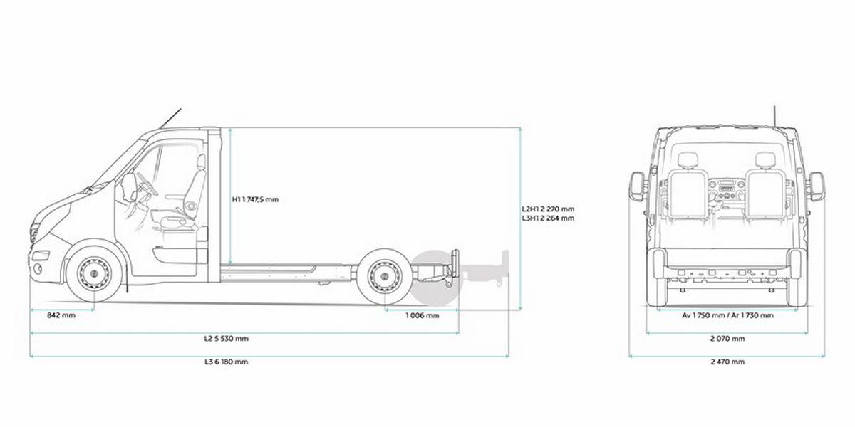 Renault Master électrique ZE : prix, commercialisation