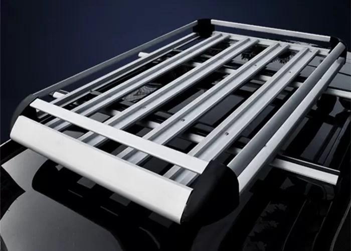 Double Layer Universal Auto Roof Racks , Aluminium Alloy