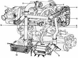 Schema moteur fiat uno essence