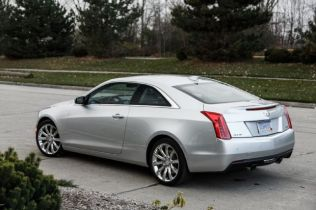 2015 Cadillac ATS Coupe 2.0T Manual: Around the Block