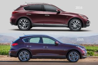 2016 Infiniti QX50 Brings Longer Wheelbase to New York