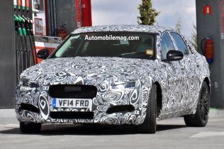Next-Generation Jaguar XF Spied Under Heavy Camouflage