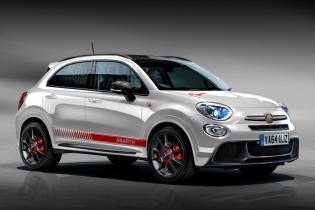 Fiat 500X Abarth – pictures