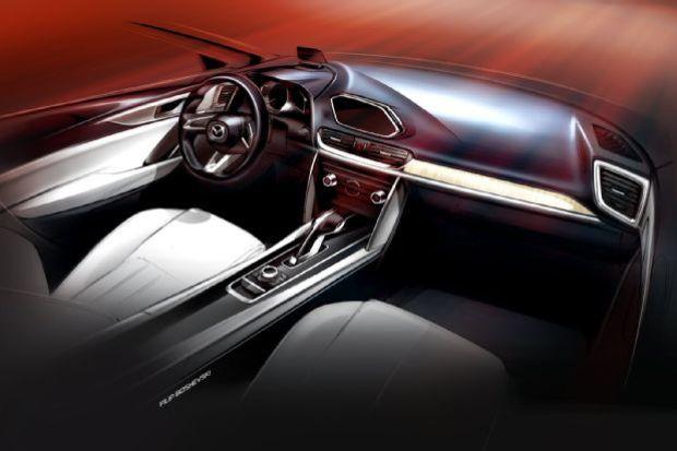 Mazda Koeru Concept Interior