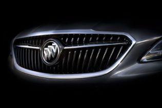 2017 Buick LaCrosse Teaser Shows Sleeker Silhouette