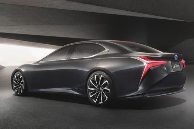 Lexus Lf Fc Concept Rear Three Quarter