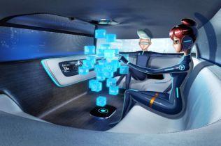 Mercedes-Benz Vision Tokyo Autonomous Concept Has Holograms & a Couch