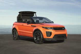 5 Things to Know about the 2017 Range Rover Evoque Convertible