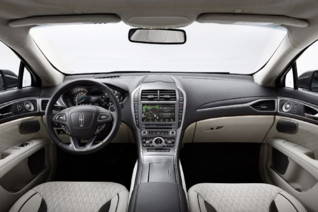 2017 Lincoln Mkz Front Dashboard