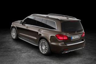 2017 Mercedes-Benz GLS Replaces GL, Adds Nine-Speed Transmission