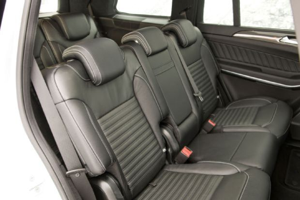2017 Mercedes Benz GLS550 4Matic Interior Second Row