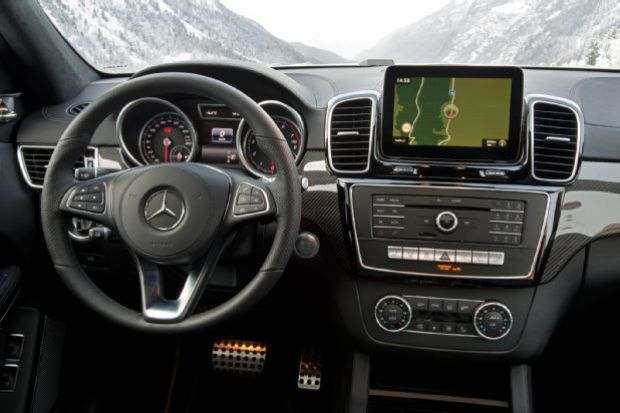 2017 Mercedes Benz GLS550 4Matic Interior