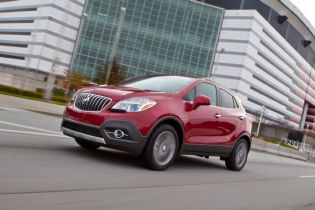 Refreshed Buick Encore Coming to New York Auto Show