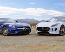 2016 Mercedes-AMG GT S vs. 2016 Jaguar F-Type Coupe R  – Head 2 Head Ep. 73