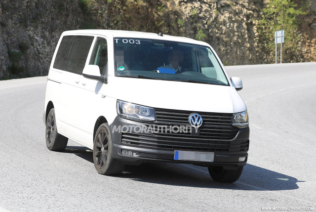 2020 Volkswagen Transporter T7 Spy Shots Automobilebrand Com