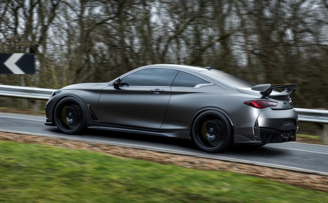 Infiniti Q60 Project Black S Concept 2017 Pictures Information