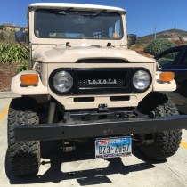 "Vintage Toyota Land Cruiser going all-electric—with a crate ""V-8"""