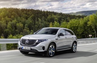 Mercedes-Benz EQC electric SUV delayed again for U.S.—now to 2021