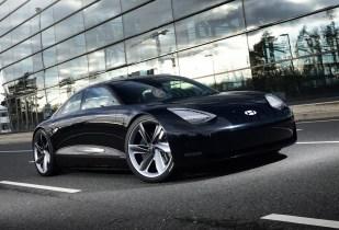 2023 Hyundai Ioniq 6 spy shots: Prophecy concept to spawn Model 3 rival