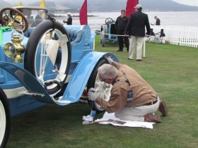 Things to consider when displaying a classic car at a local show