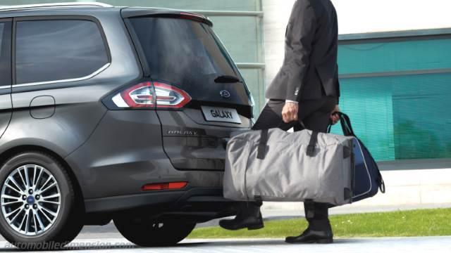 Ford Galaxy 2015 Abmessungen Kofferraumvolumen Und Innenraum