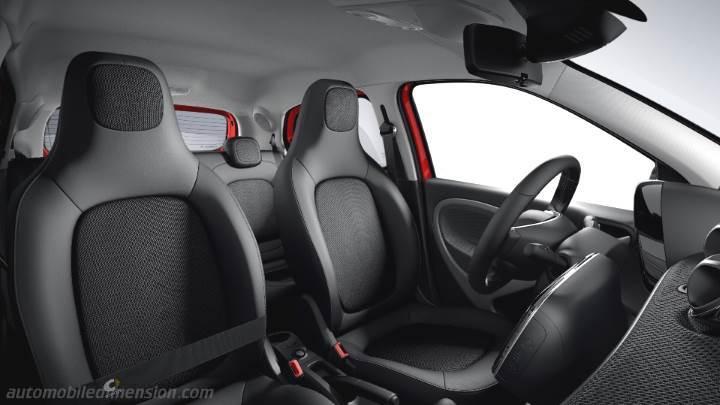 Smart Forfour 2015 Abmessungen Kofferraum Und Innenraum