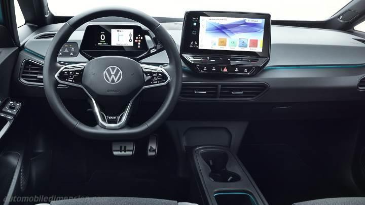 Technische daten für bmw x3: Volkswagen ID.3 2020 Abmessungen, Kofferraumvolumen und