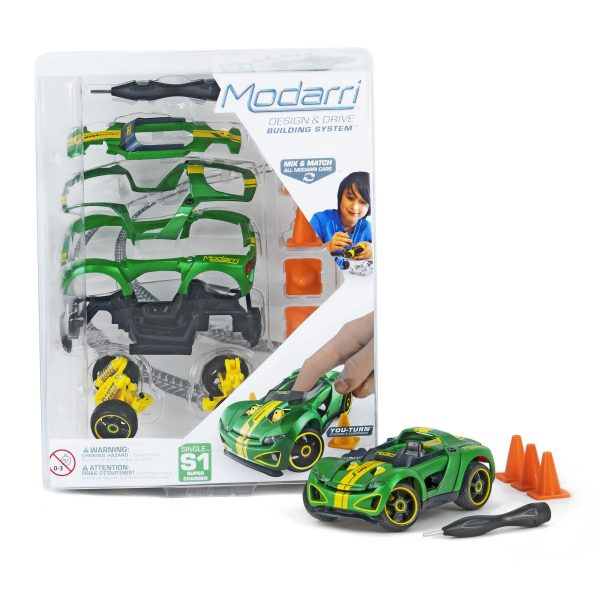 Super charger toy car