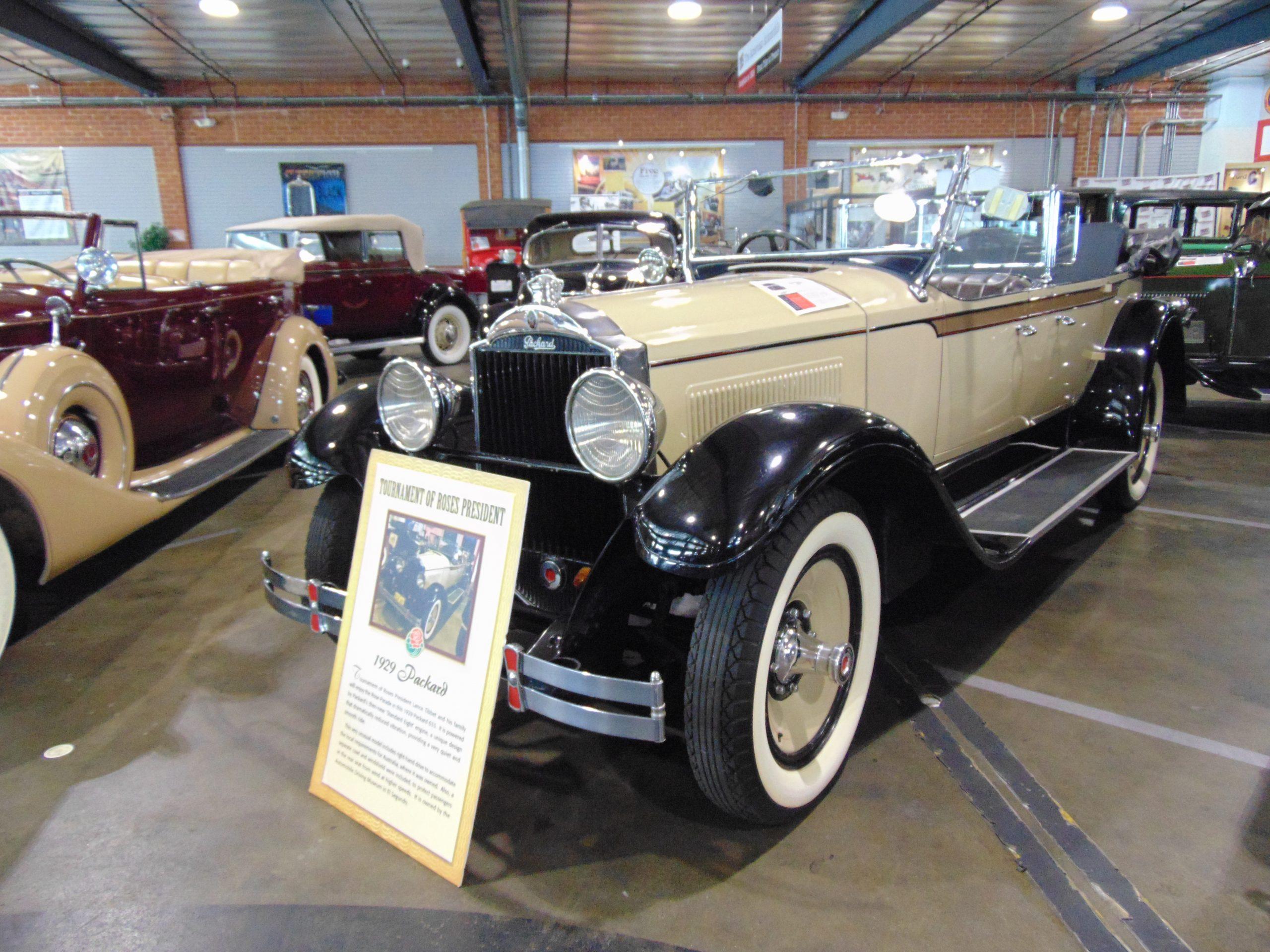 1929 Packard Car Rental
