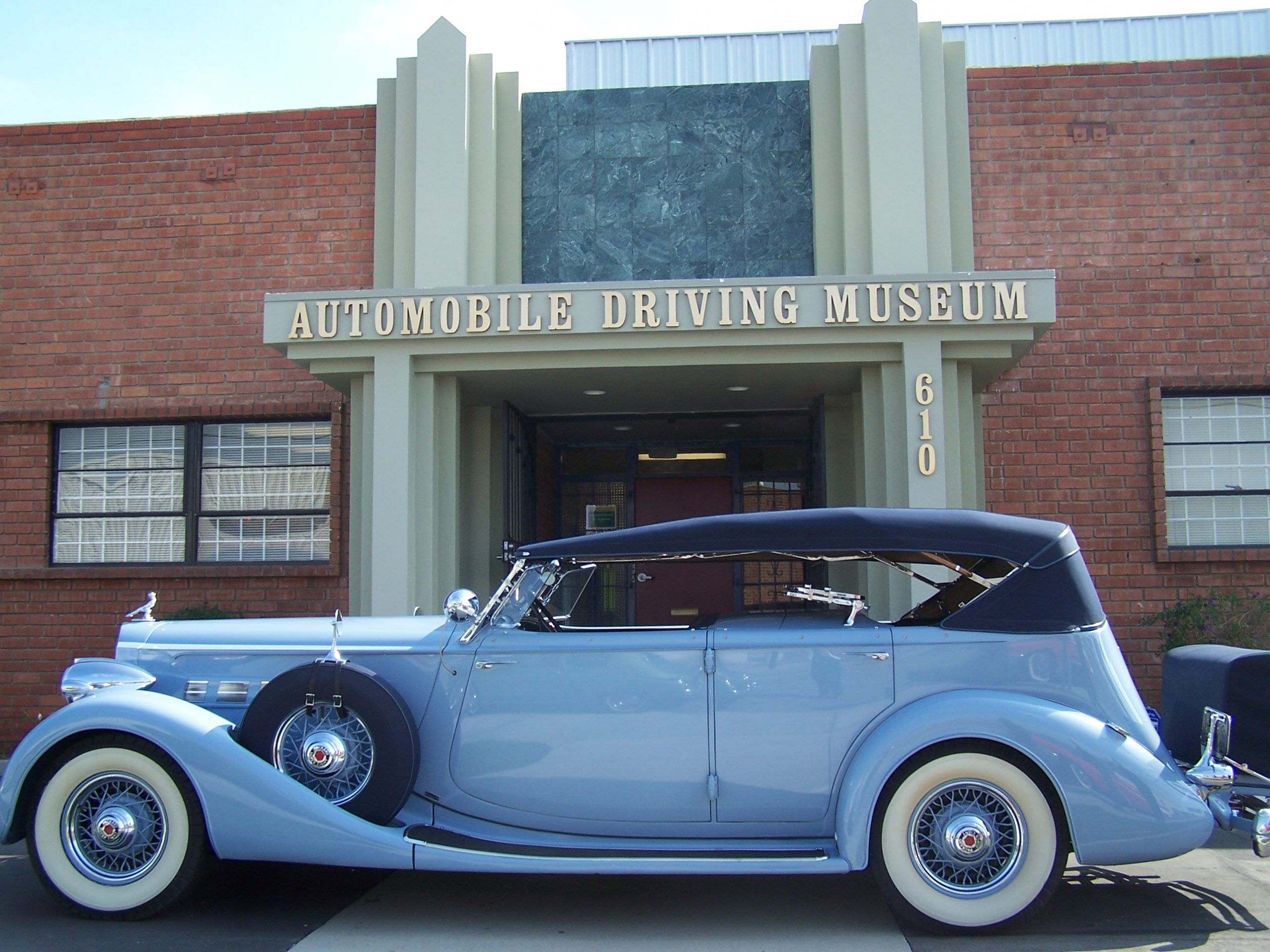 1935 Packard for rent