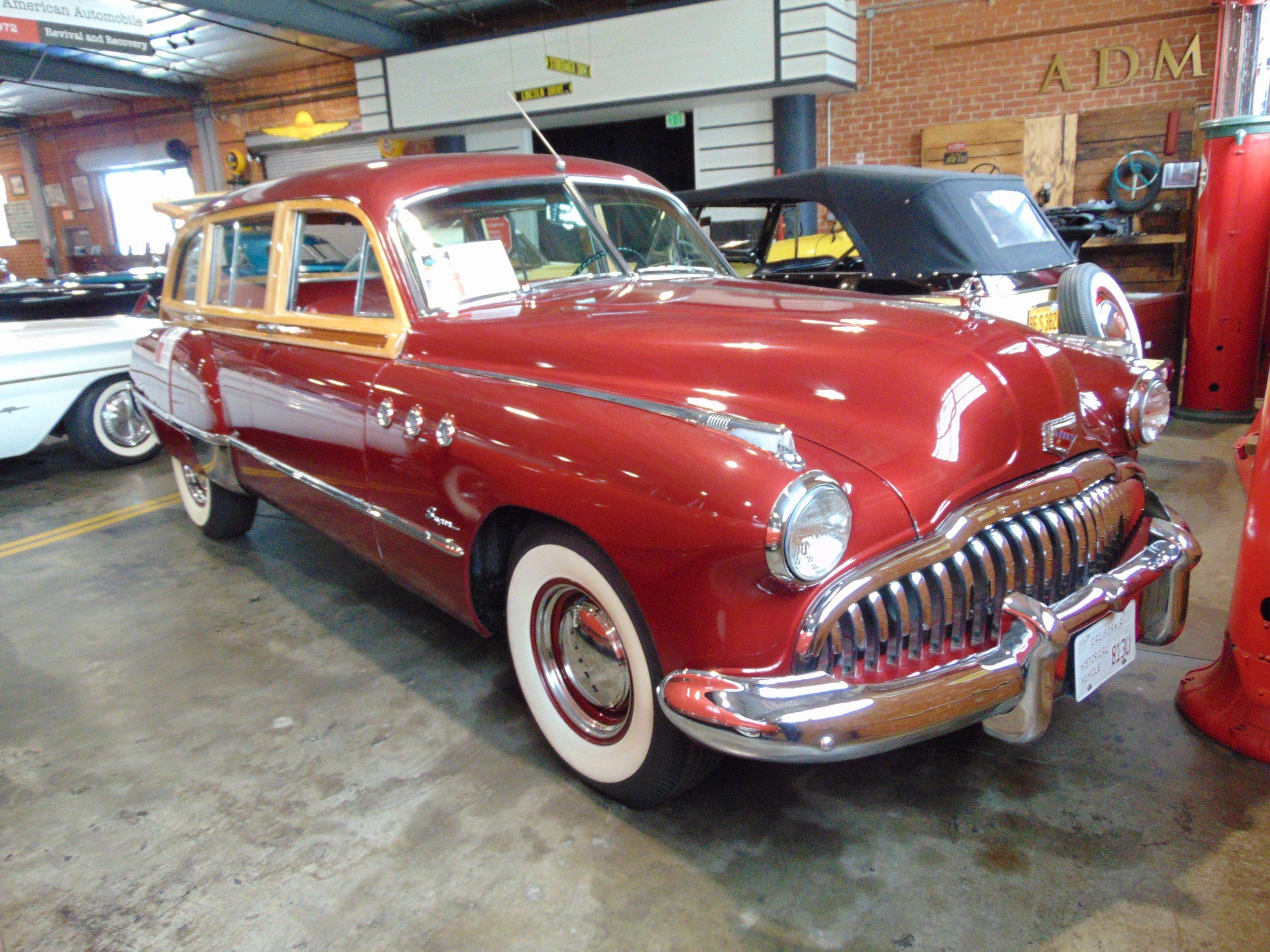 1949 Buick Estate Woody Wagon