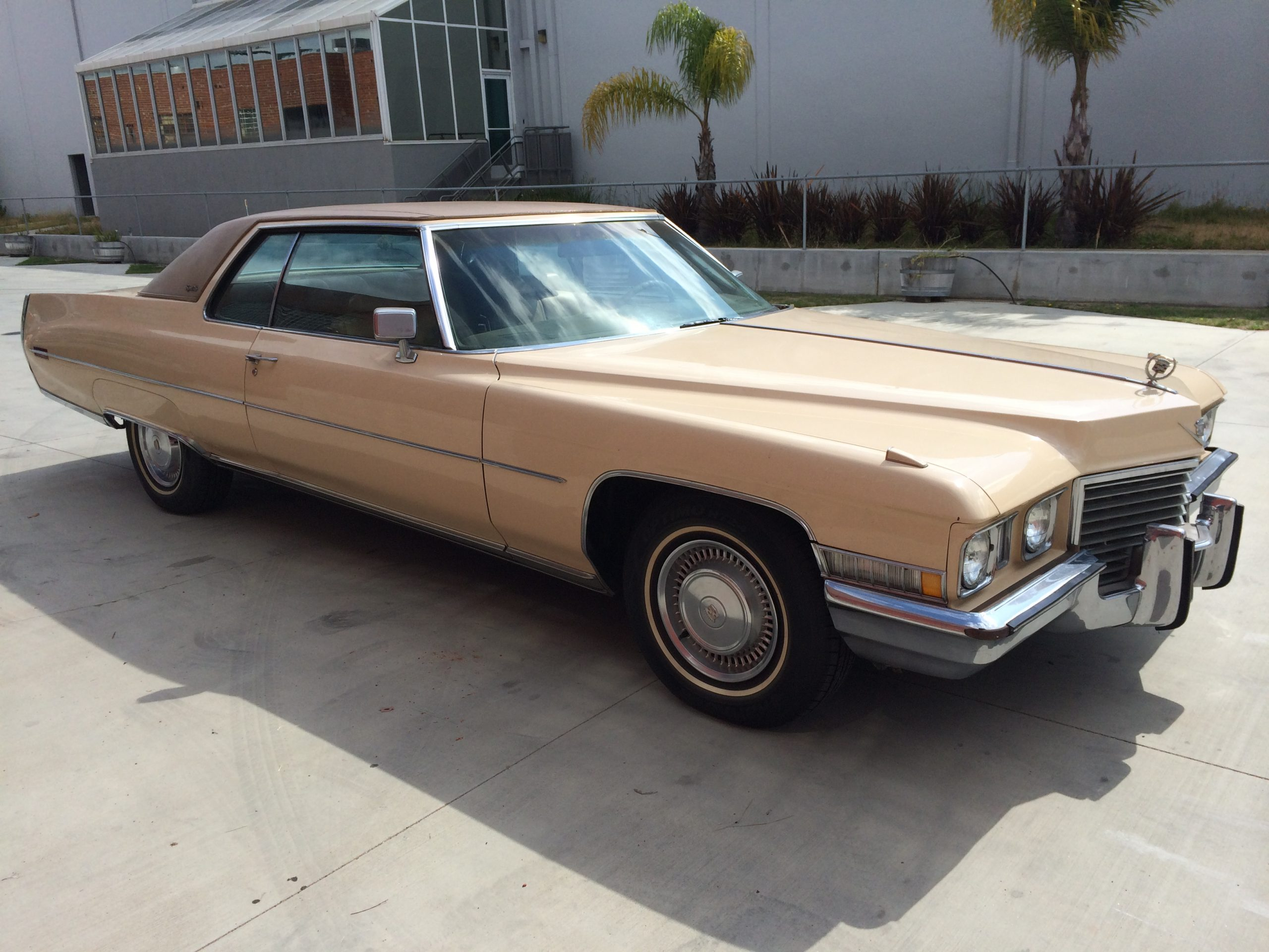 1972 Cadillac for rent
