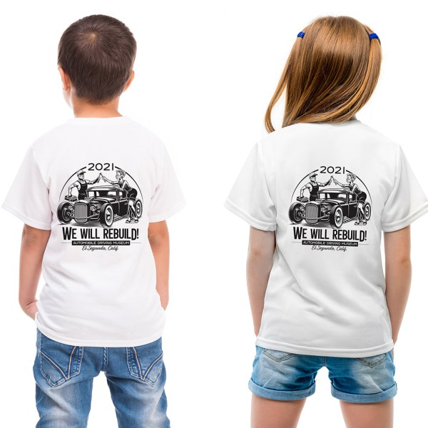 Kids Hot Rod T Shirt