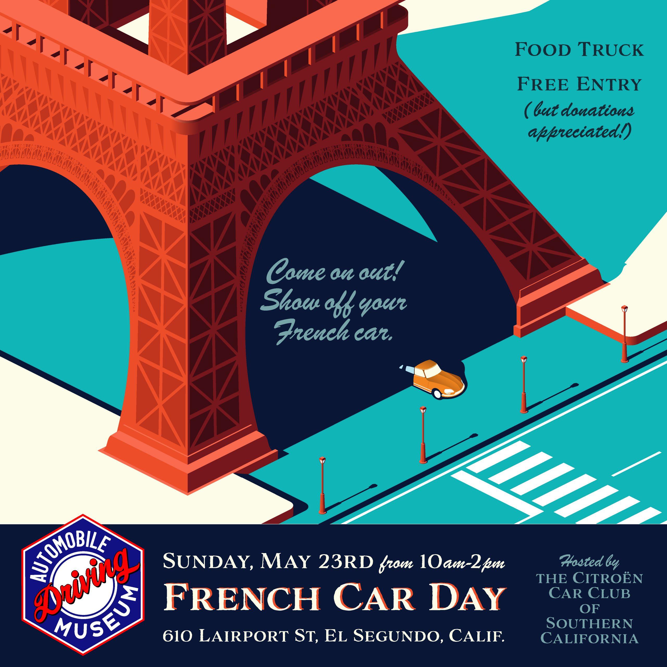 French Car Day In El Segundo Citroen