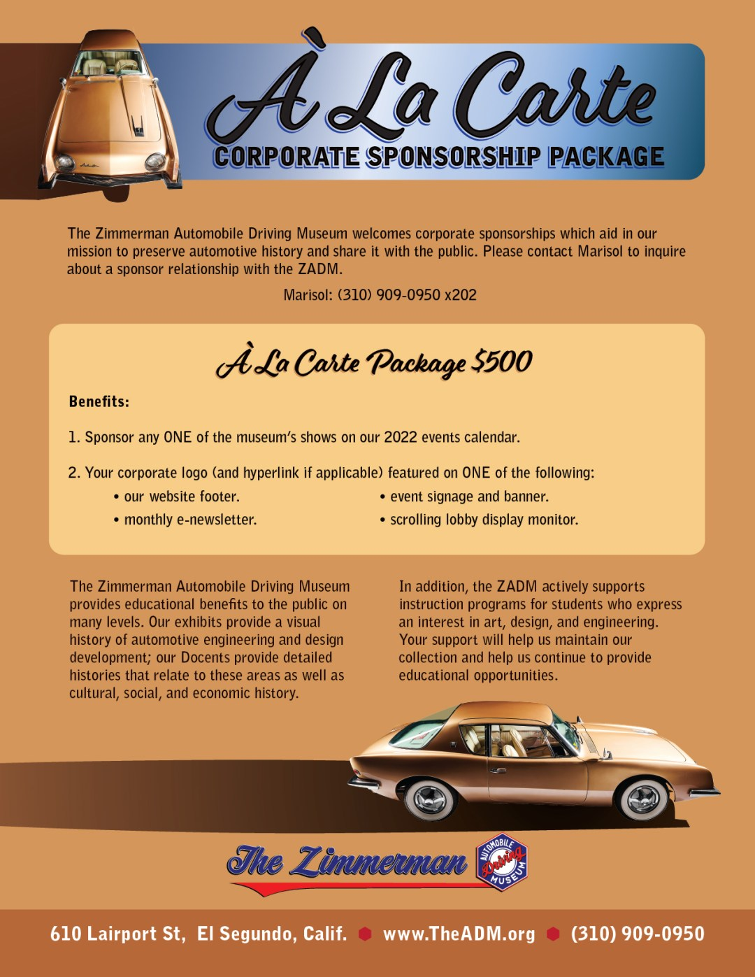 A La Carte Corporate Sponsorship Package one Sheets v2-05