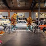 Wedding at Museum with classic cars