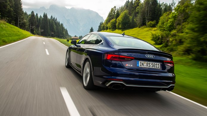 Review The Audi Rs5 Sportback Is One Bad Mother