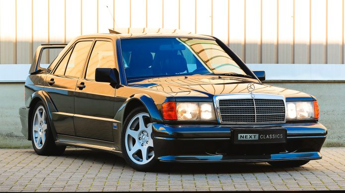 The 1990 Mercedes Benz 190e 2 5 16 Evolution Ii Crowned A Four Cylinder German Arms Race
