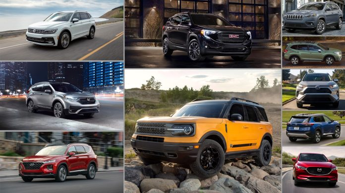 The 10 Cheapest Best Looking Compact Suvs You Can Buy Right Now