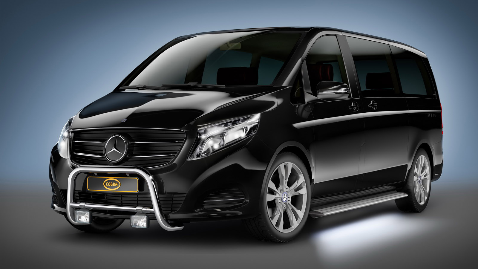 Cobra Accessories Adorn The New Mercedes V Class And Vito Vans