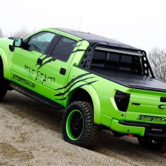 Ford F150 Raptor Technische Daten Animal Cell Coloring Diagram Geigercars Garish Green F 150 Svt Beast Edition